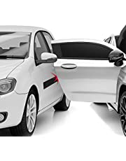 Xcellent Global Cinta Protectora Magnética Puerta Coche Removible 2 Metros - Kit Hagalo Usted Mismo Color Negro S-AT007