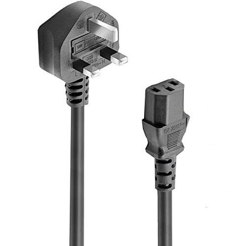 FSKE 5m UK Mains 3 Pin Plug to IEC 320 C13 H05VV-F 3 * 0.75mm² AC Power...