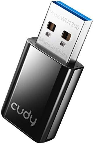Cudy WU1300 AC 1300Mbps WiFi USB Adapter for PC USB 3 0 USB WiFi Dongle 5Ghz 2 4Ghz WiFi USB product image