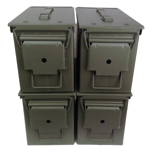4-pack Mil Spec 50 Cal M2A1 Empty Ammo...