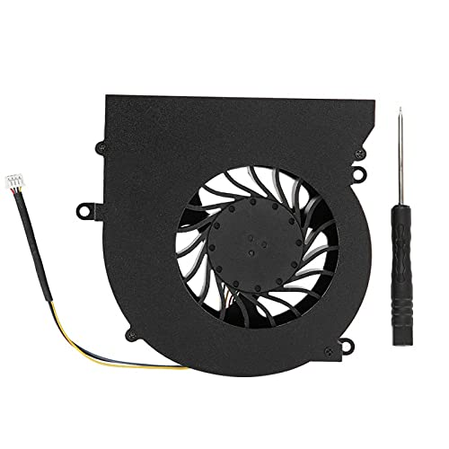 Mothinessto Laptop DC12V 0.65A with Screwdriver Premium Cooling Fan for MSI GT62VR series MS-16L1 MS-16L2