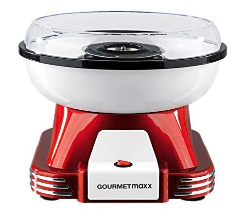 GOURMETmaxx 07329 Zuckerwatte-Maschine Rot-Weiß
