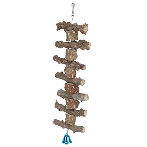 HEEPDD huisdier papegaai kauwspeelgoed, opknoping snaren Bell geluid vogel speelgoed bijten slijpen snavel zorg activiteit centrum spelen speelgoed kooien decoratieve accessoires