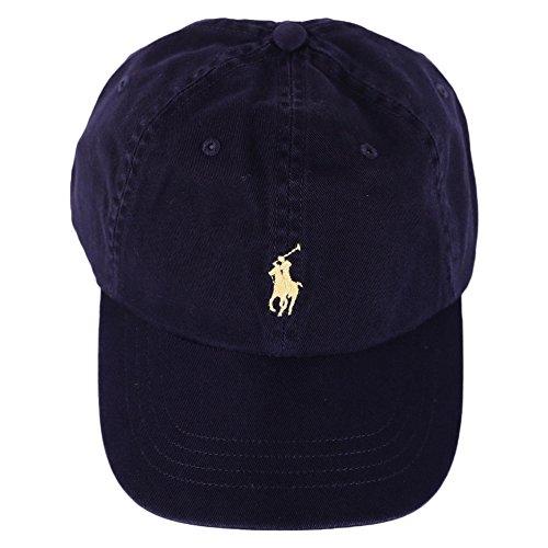 Ralph Lauren Sport Cap-hat, Casquette De Baseball Homme, Multicolore (Relay Blue/yellow A4ypp), Taille unique