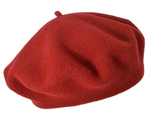 Seeberger Damen Serie Scheffau Strickmütze, Rot (Vino 0022), 57 cm (Herstellergröße: one Size)