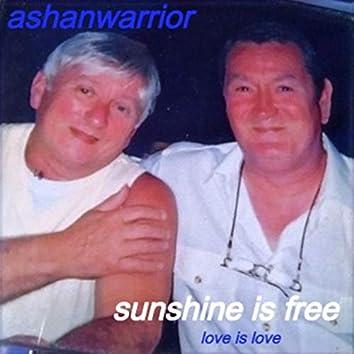 Sunshine Is Free