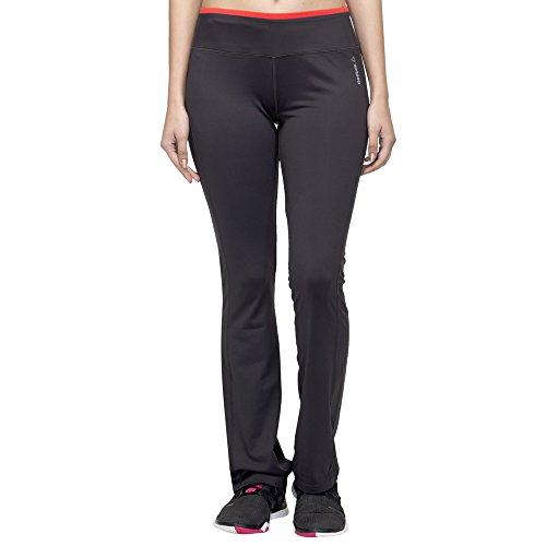 Reebok Damen Workout Fitted Bootcut Hose Laufhose Sporthose Fitnesshose (XS)