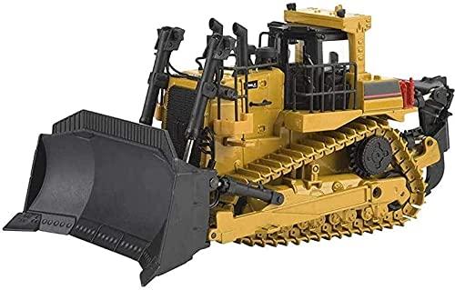 PJPPJH Coche de Juguete, Excavadora Gigante de Juguete, 1:50, Tractor eléctrico de...
