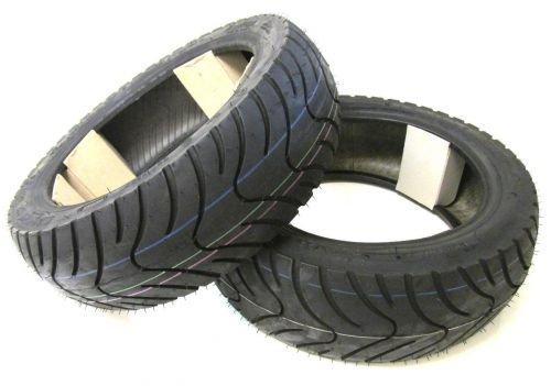 Roller Reifen Set Satz - Vorne + Hinten 130/60-13 für TGB Bullet (BM1)