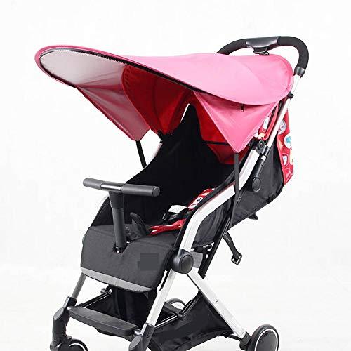 Poussette rose Sun Shade Extender Universal Protection UV Protection Cover Princess, écran solaire complet pour parapluie, extension de la canopée, poussette Rayshade Pram Baby Carriages, NEUF
