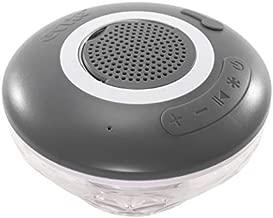 GAME 4312 New Speaker & Underwater Show Bluetooth Wireless Pool Speaker (Waterproof) with Disco Lights