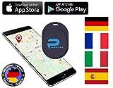 Phantiax Schlüsselfinder Check Mini | Keyfinder mit Bluetooth App und GPS Ortung zum Finden von Schlüsseln, Portmonee, Handy/Smartphone