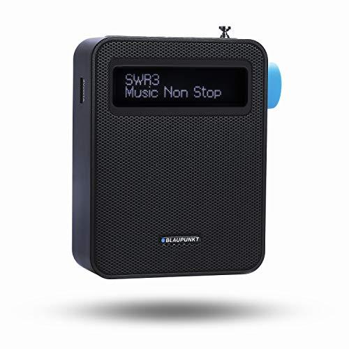 Blaupunkt Steckdosenradio PDB 100 DAB+, Digital Radio und UKW Radio mit RDS, Bluetooth, USB Ladestecker, 30 Senderspeicher, Teleskopantenne Schwarz