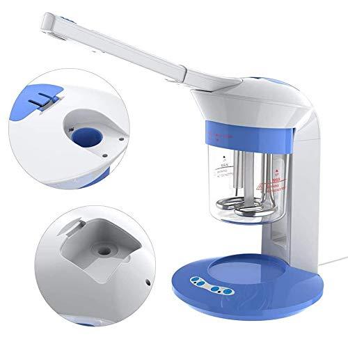 Portable Ion Vapour Mini Spa Steam Facial Steamer SPA Facial Skin Moisturizing Tool Warm Mist Humidifier Atomizer for Blackhead Acne Cleaner Sinuses Skin Care