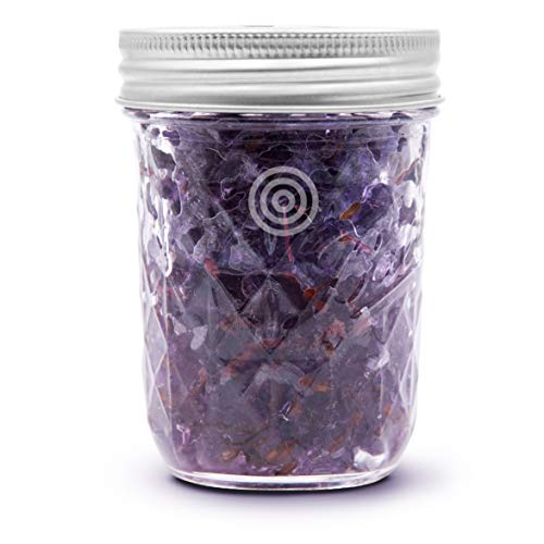 VIOIS, Lavender Aromatherapy Car Air Freshener(Gel Type). Handcrafted Natural Air Freshener for Car and Small Room. Chemical Free & Non Toxic. Ball Mason 8 Ounce (225g) jar.
