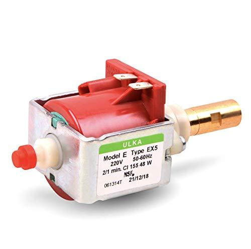 Pompe à eau de rechange pour Ulka EX5 220 V 48 W 15 bar Pompe électrique pour machine à café et à expresso
