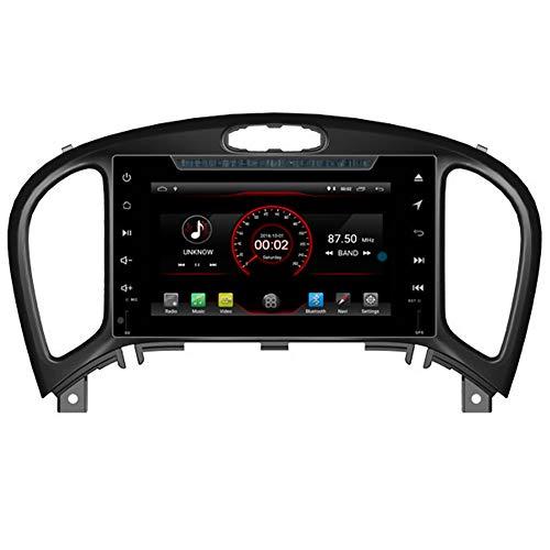 Autosion - Reproductor de DVD para coche Android 10 con GPS estéreo, radio Navi Multimedia Wifi para Nissan Juke 2012 2013 2014 2015 2016 2017 Volante Control