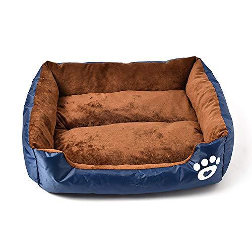 SHPEHP Cama para Mascotas, Cama para Perros con Felpa mullida, Cama para Mascotas cálida Cama para Mascotas Cuddler Donut, Perros medianos y Grandes Transpirables-C-S