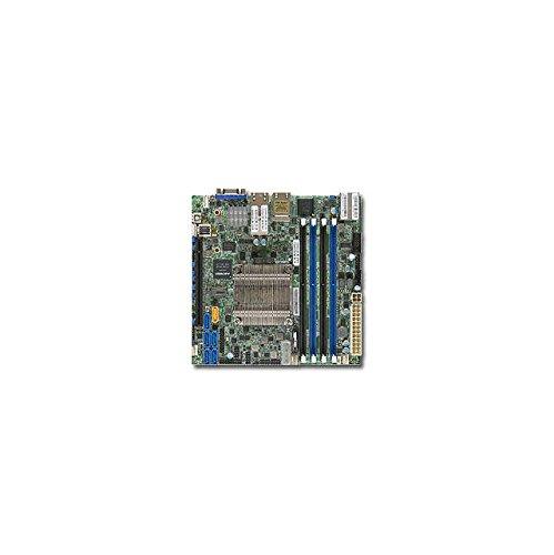 Supermicro X10SDV-4C-TLN4F Server-/Workstation-Motherboard BGA 1667 Mini-ITX - Server-/Workstation-Motherboards (Intel, BGA 1667, 35 W, D-1500, DDR4-SDRAM, 1600,1866,2133 MHz)