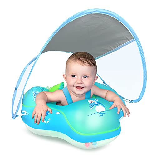 LAYCOL Baby Swimming Float Inflatable Baby Pool...