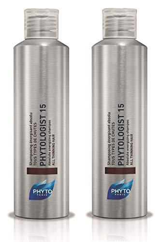 2er Absolute Energizing Shampoo Phytologist 15 für alle Arten des Haarausfalls Phyto Paris 200 ml
