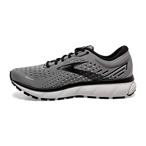 Brooks Men's Ghost 13, Primer Grey/Pearl/Black, 10 Medium