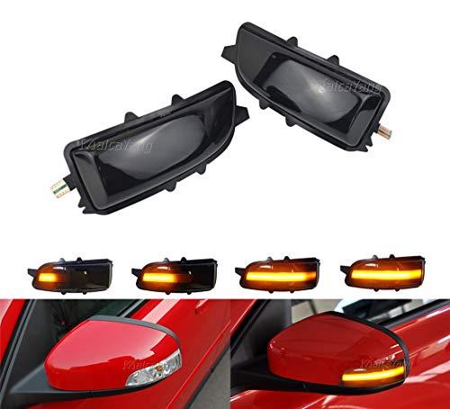 Links Rechts Spiegelblinker Dynamische Blinkerleuchten Blinker Kompatibel mit Vol-vo C30 C70 S40 V40 V50 V70 S60