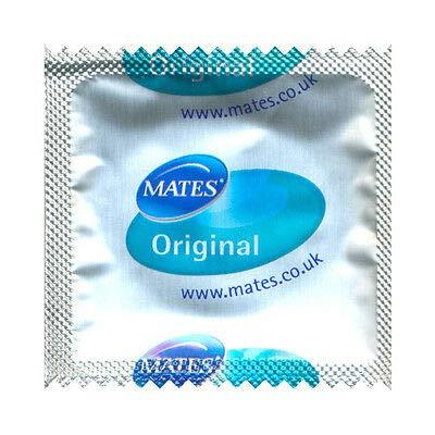 Mates Original Kondome von Manix x 72 glatte Oberfläche, leicht zu montieren, 6 Boxen à 12 Stück
