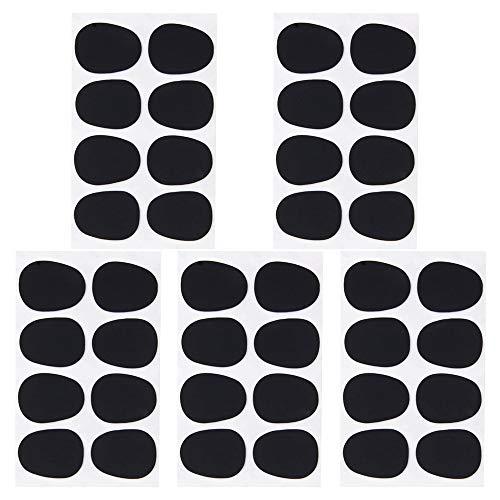 40 almohadillas para boquilla de 0,8 mm, parches para