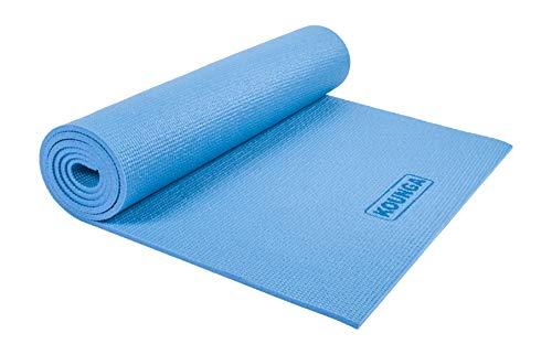 Kounga - Tappetino da yoga unisex ComfiPro 8, colore: Azzurro, taglia unica