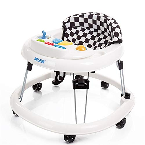For Sale! HANXIAODONG Baby Push Walker Girl&Boy Walker Toy Infant Foldable Walker, Baby Safety Indep...