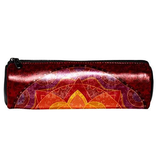EZIOLY Hippie Mandala Yoga Psychedelic - Estuche piel