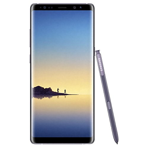 Samsung Galaxy Note 8, 64GB, Orchid Gray - For AT&T / T-Mobile (Renewed)