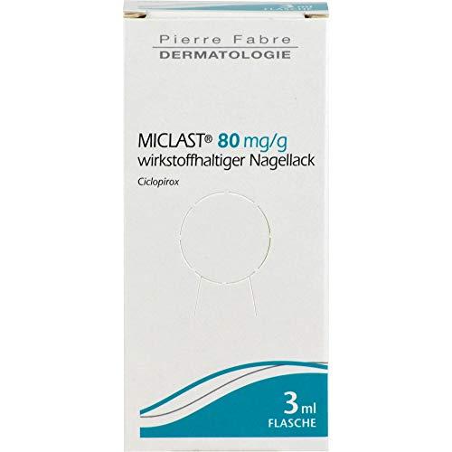 MICLAST Nagellack bei Nagelpilz, 3 ml Lösung
