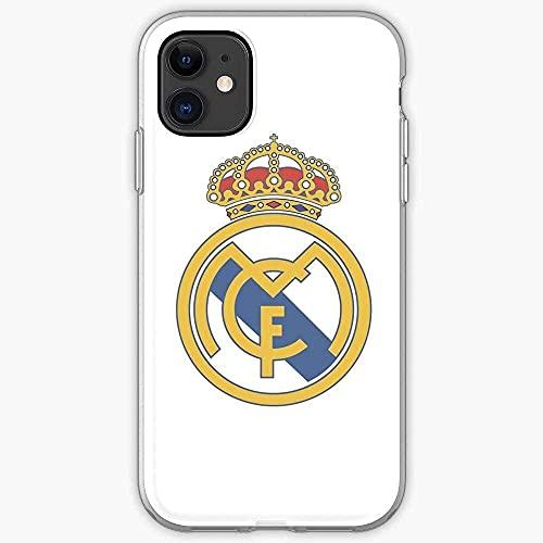 Compatibile con Samsung/iPhone 12/11/X/XR/7/Xiaomi Redmi 9A/Note 9/10/8 Pro Custodie Cristiano Bale Football Sport Madrid Ronaldo Real Custodie per Telefoni Cover