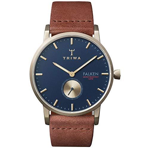 TRIWA Falken Men's Minimalist Dress Watch – Luxury Wrist Watches for Men, 38