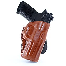 MASC HOLSTER LEATHER PADDLE HOLSTER