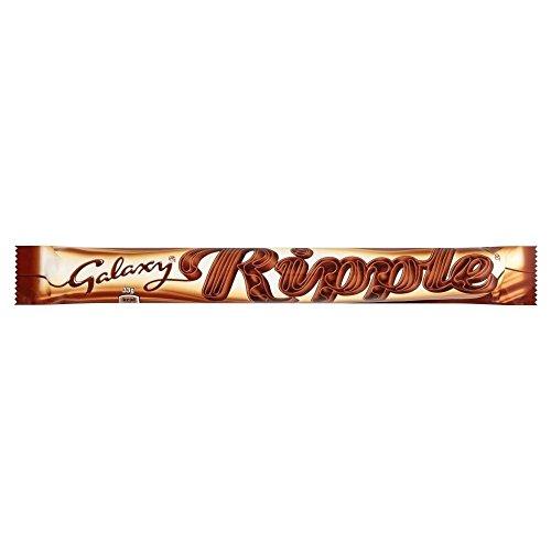 Galaxy Ripple Milk Chocolate Bar (33g) x 6