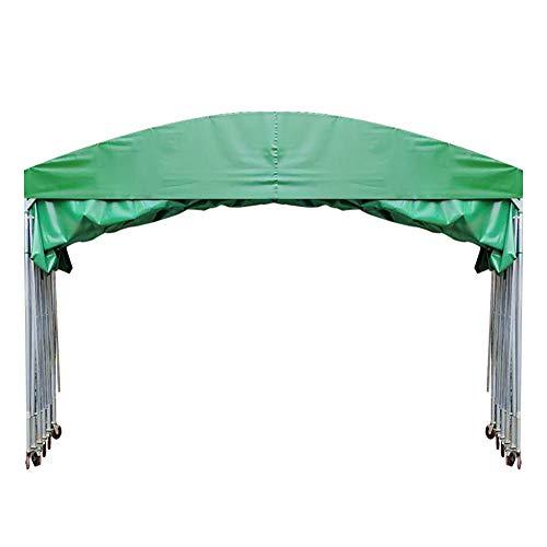 ZDYLM-Y Tragbares Hochleistungs-Carport-Autodach, Stahl-Metallrahmen-Baldachin, für Garagenunterstand,4x3x3m
