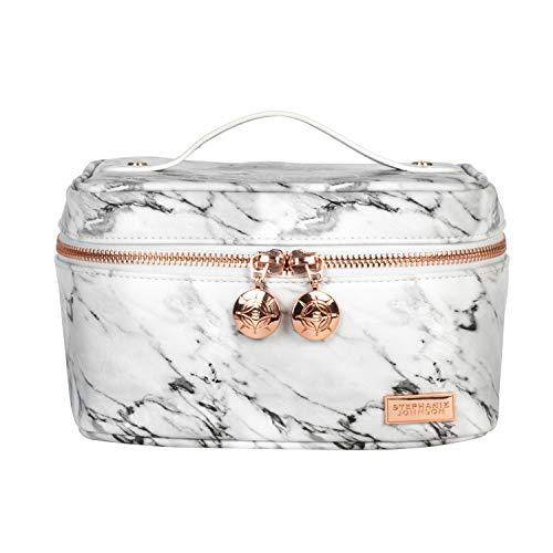 Stephanie Johnson Women's Carrara Louise Travel Case Purse, Grey, One Size