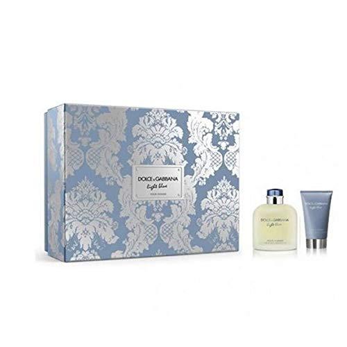 Dolce and Gabbana Light Blue Men 2 Pc Gift Set