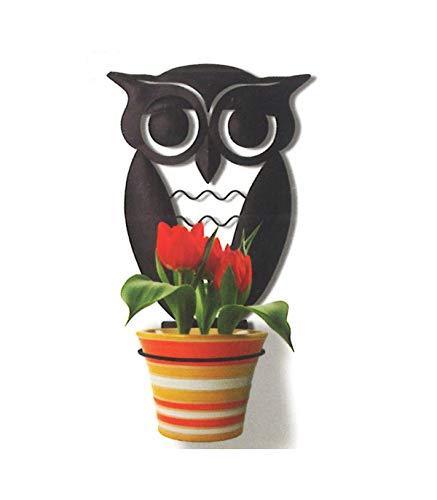 Astuceo Support de Plante Design Hibou