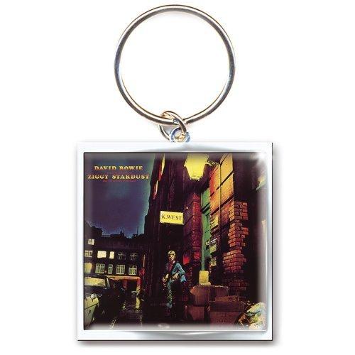 Portachiavi Metallo David Bowie Ziggy Stardust Keychain