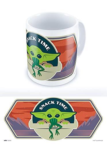 Grupo Erik TAZ035 Ofizielle Star Wars The Mandalorian Child Baby Yoda Tasse, Keramik, 330 milliliters