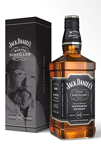 Jack Daniel's Tennessee Whiskey - 43% Vol. - Master Distiller Serie No. 5 - limited Edition Bourbon, 700 ml