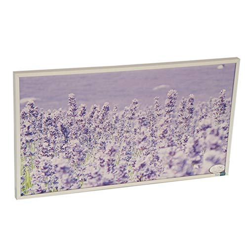 Infrarot-Heizung-Panel Raumheizung Elektrische Heizungen 180watt Weiß Rahmen Lavendel Bild 2*
