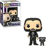 Figura De Vinilo # 580 John Wick con Perro Pop Figura De Acción Modelo Juguetes Película Muñeca De Vinilo Regalos para Niños
