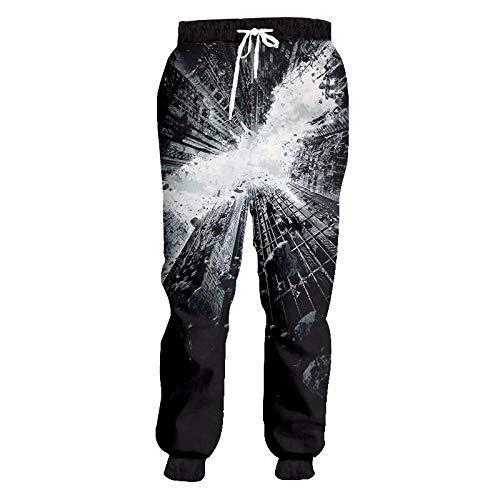 Unisex 3D Estampado Pantalones De Chándal,Pantalones Deportivos Para Correr Pantalones Novedad Objetos...
