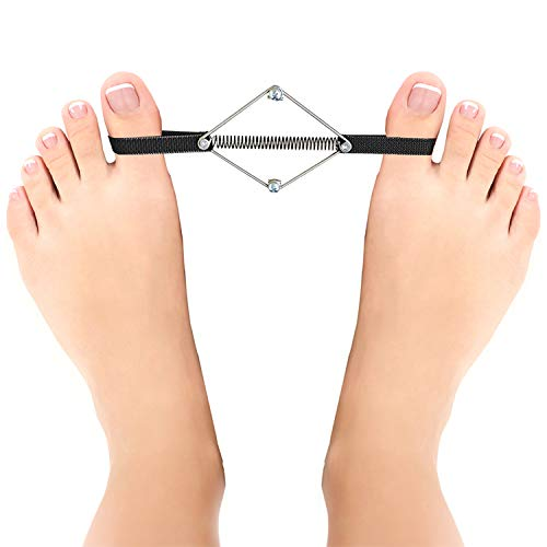 Bunion Corrector Relief Splint Brace Straightener - Toe Stretcher & Separator - Bunions and Hammer Toes Relief - Toe Exerciser Originates From The Pilates Method - Orthopedic Bunion Corrector