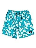 Quiksilver Dye Check 15' Bañador, Niños, Azul (Caribbean Sea), M/12